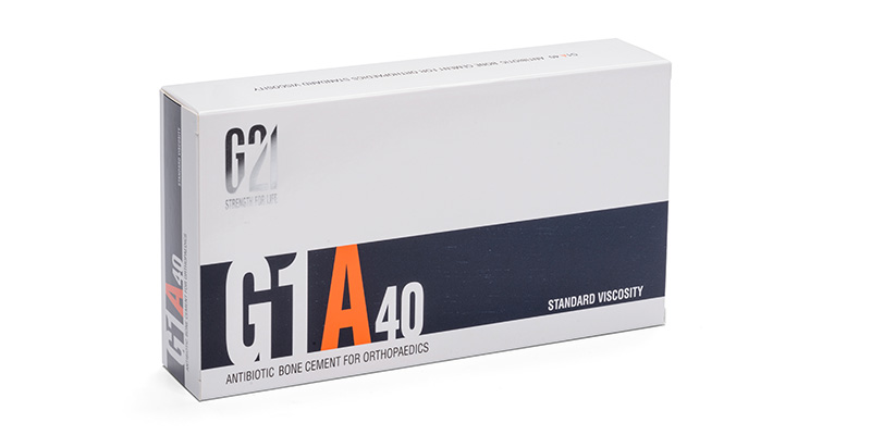 G21 - Ortopedia - Cemento osseo G1A40