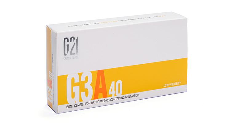 G21 - Ortopedia - Cemento osseo G3A40