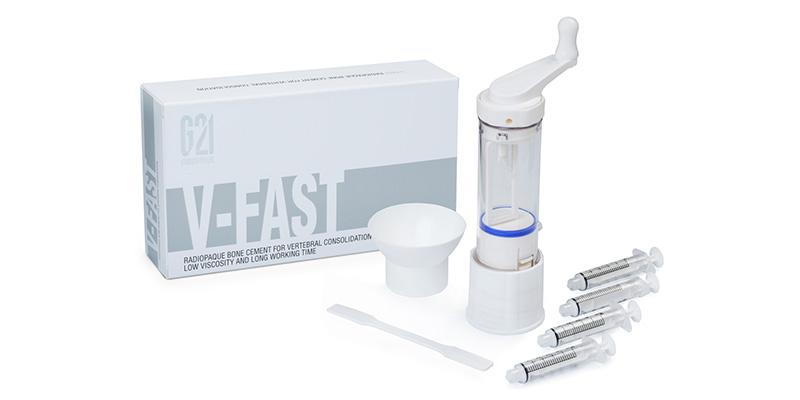 G21 - V-FAST™ cemento osseo con miscelatore e siringhe per somministrazione