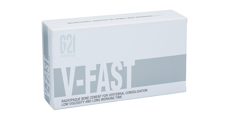 G21 - Chirurgia spinale - V-FAST™ cemento osseo a bassa viscosità