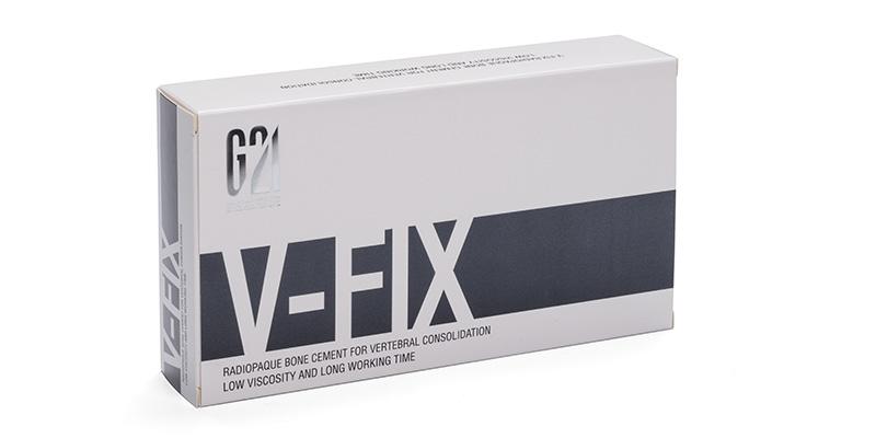 G21 - Chirurgia spinale - V-FIX™ cemento osseo a bassa viscosità