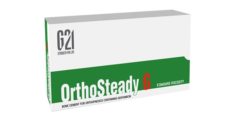 G21 - Orthopedics - Bone cements OrthoSteady G