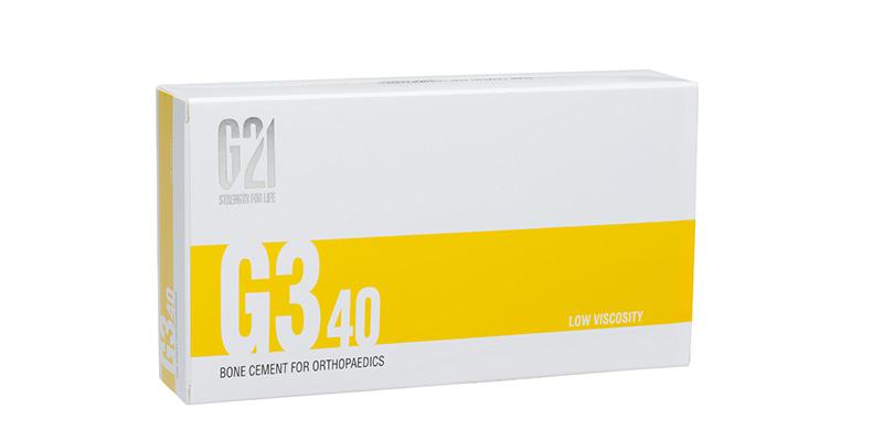 G21 - Ortopedia - Cemento osseo G340